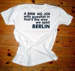 Seine ontai Shirts sind 'so Berlin'. Könnt ihr kaufen - wenn ihr auch mal ein bisschen geil aussehen wollt